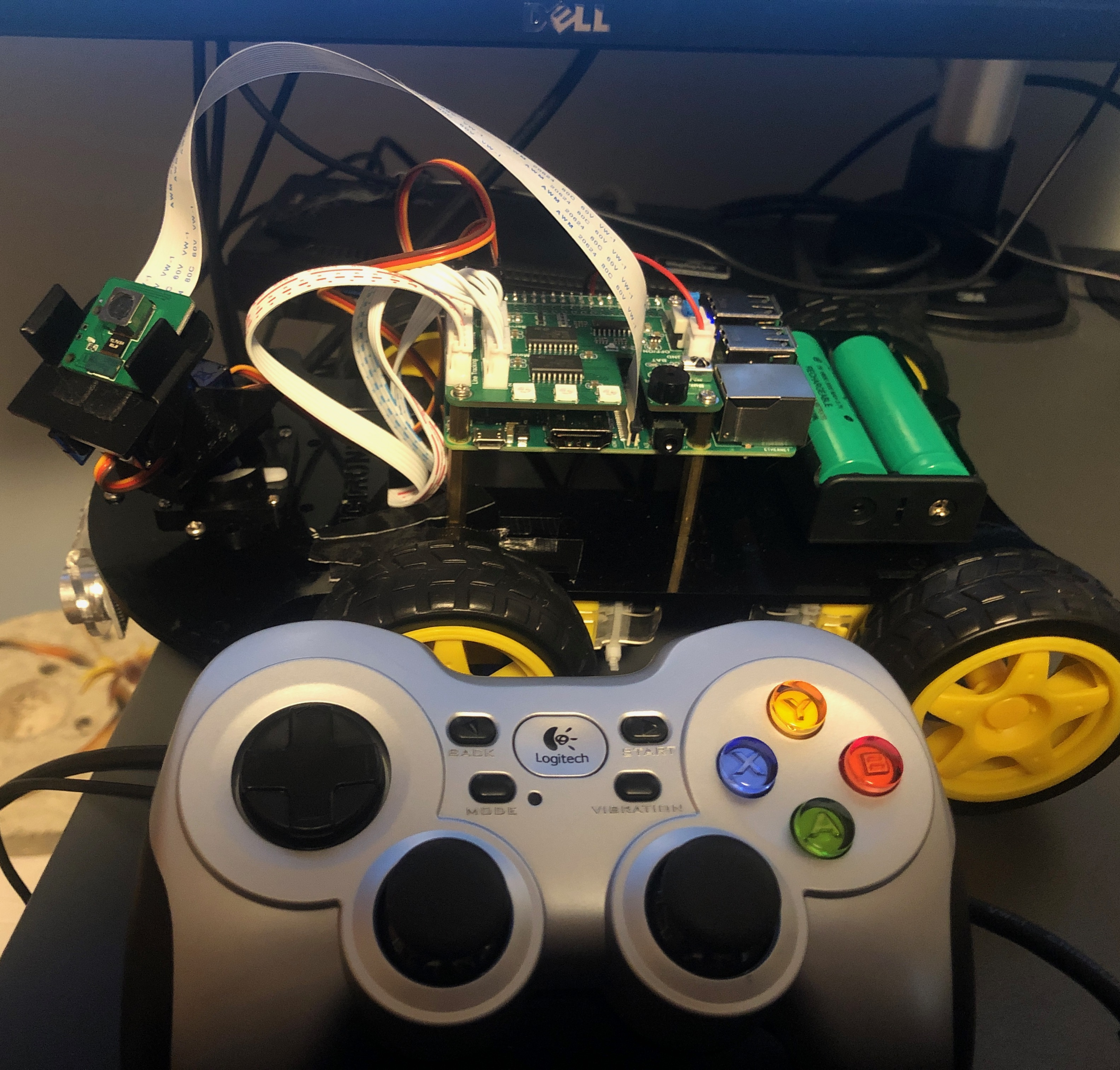 image from Raspberry Pi: Programming Motors with Python and pigpio